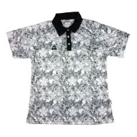 LADIES BOTANICAL SHORT SLEEVE WHITE/BLACK