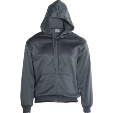 UNISEX ADULTS ZIP THROUGH FLEECE HOODIE
