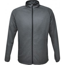 MENS LIGHT WEIGHT FLEECE ZIP THROUGH JACKET