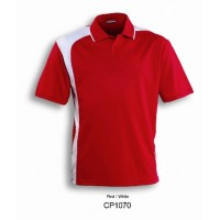 UNISEX ADULTS ASYMMETRICAL POLO