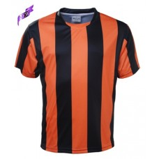 SUBLIMATED STRIPED FOOTBALL JERSEY