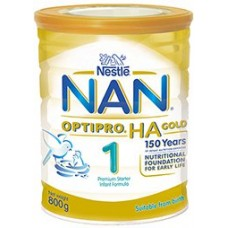 NAN 1 HA Gold (Birth) - CARTON (6 TINS)