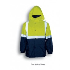 HI-VIS MESH LINING JACKET WITH REFLECTIVE TAPE