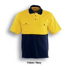 HI-VIS COTTON JERSEY POLO