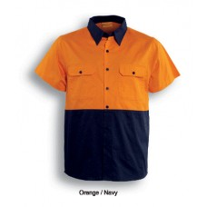 HI-VIS COTTON TWILL SHIRT