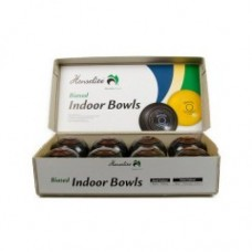 "Indoor Carpet Bowls - 4"" Black Only"