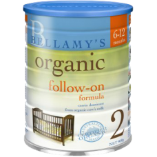 Bellamy's Organic 2 (Follow On) - CARTON  (3 TINS)