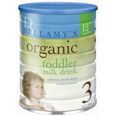 Bellamy's Organic 3 (Toddler) -  CARTON (3 TINS)